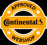 Gomme auto ecommerce approvato da Continental