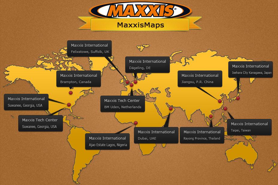 MaxxisMap