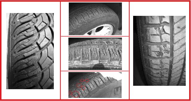 Danneggiamento pneumatici: lesioni sul battistrada