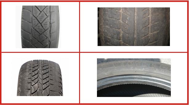 Danneggiamenti pneumatici: usura delle spalle